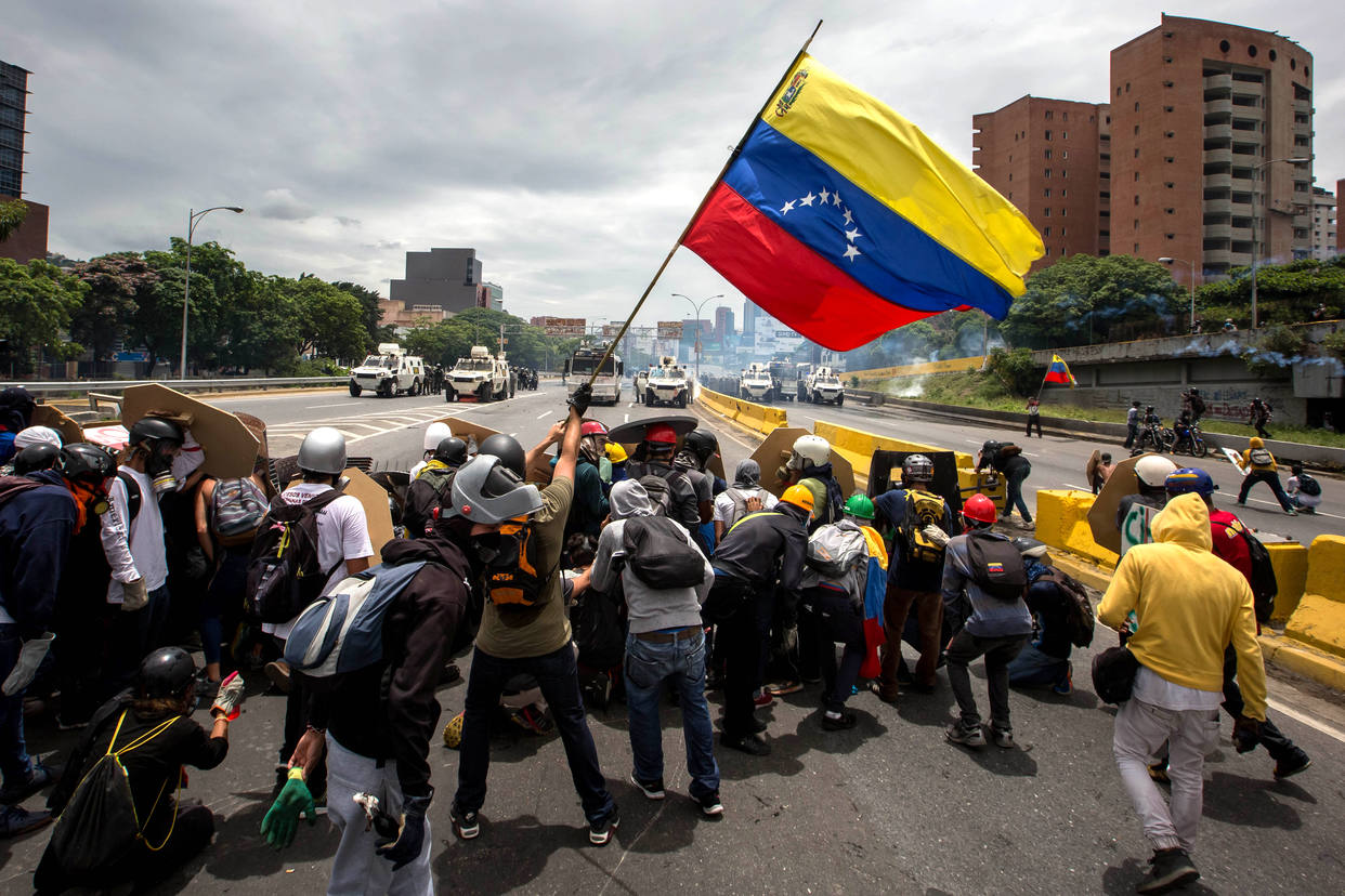 Resistencia venezolana - este imagen fue obtenido del sitio web del prepago chavista Henrique Capriles